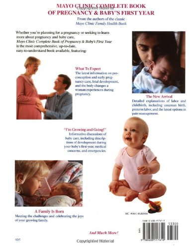 mayo clinic guide to your babys first year from doctors who are parents too