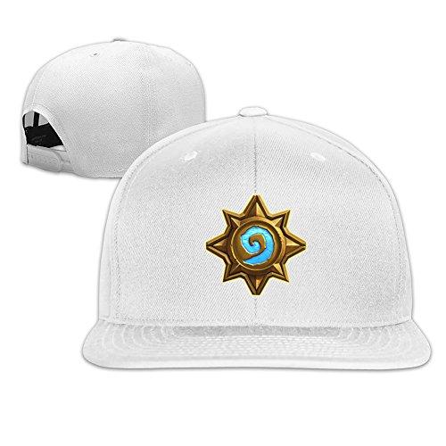QWERT Unisex Hearthstone Flat Billed Cap Baseball-caps 1 Size ColorKey