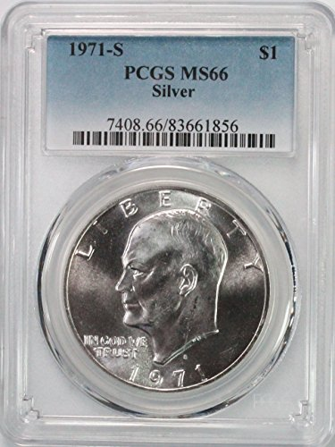 1971 S Eisenhower Ike Dollar $1 MS66 PCGS