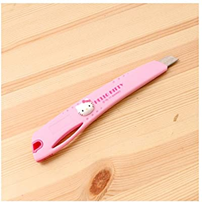 Hello Kitty Stanley Utility Knife Snap-off Blade Box Cutter Home Office Pink