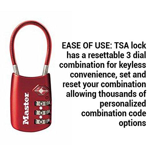 Master Lock Padlock Set Your Own Combination Tsa Accepted