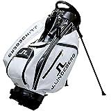 J.Lindeberg Golf Caddy Bag JL-011S White 2015 Model from Japan