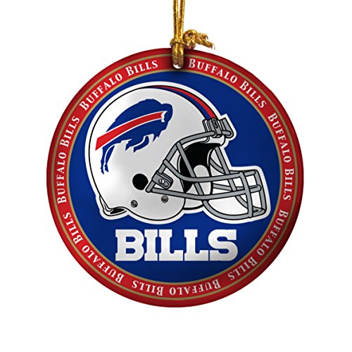 NFL Buffalo Bills Ceramic Plate Ornament