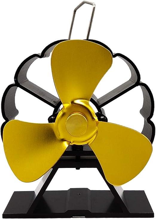 JOYKK Mini Ventilador de Estufa con Chimenea de Calor Ventilador ...