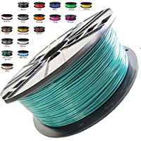 Melca 1.75 3D Printer Filament PLA 1kg +/- 0.03mm, Dark Green (#20603D) by Melca