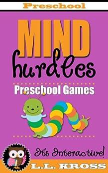 Preschool Games (Interactive Books For Kids): Mind Hurdles by [Kross, LL]