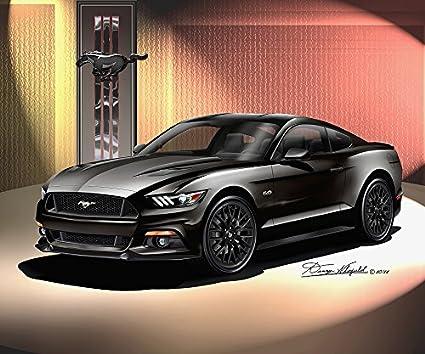 2015 Mustang Gt Black >> Amazon Com 2015 Ford Mustang Gt Premium Fastback Black