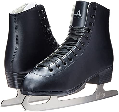 American Athletic Shoe Men's Tricot Lined Figure Skates