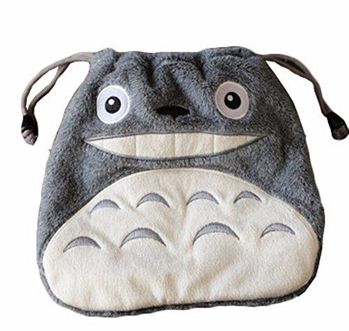 rare Schultertasche Tasche Shoulder Bag Rucksack reisetaschen Grau Weiß Plush totoro new