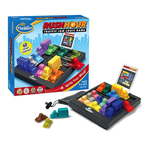 ThinkFun Rush Hour Traffic Jam Logic Game and STEM Toy (Tests Theme Level)
