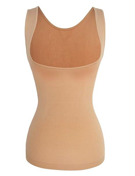 7773d0b593677 Shaper Maker Women s Shapewear Tank Tummy Control Bust Lift Slimming Cami  Top  Amazon.ca  Clothing   Accessories