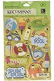 K&Company Water Fun Pool Grand Adhesions Stickers