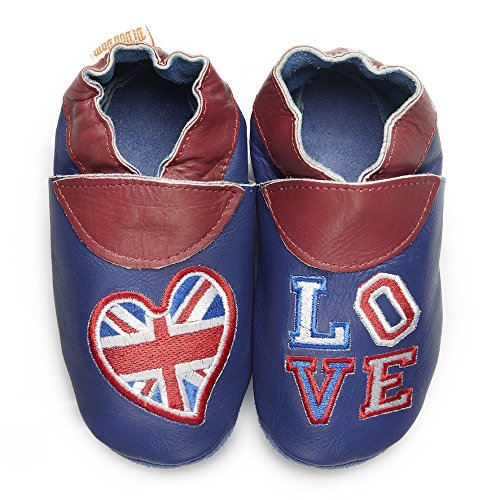 Didoodam - Chaussons adulte - English Blues - chaussons souples
