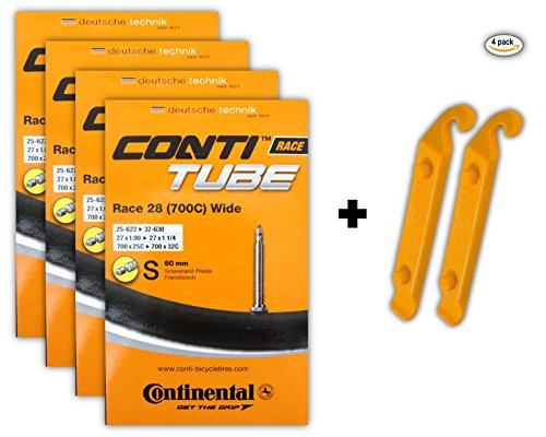continental-race-28-700x25-32c-bicycle-inner-tube-bundle-60mm-presta-valve-pack-of-4-w-2-conti-tire-