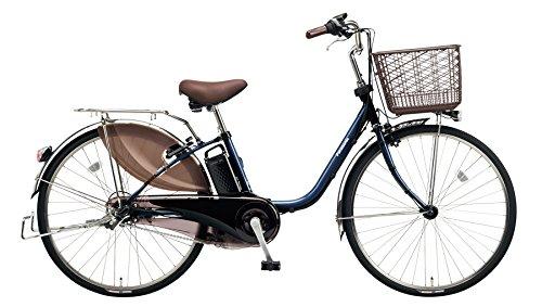 Panasonic(パナソニック) 2018年モデル ビビDX 24インチ BE-ELD434 電動アシスト自転車 専用充電器付 B078K3GH5BV:USブルー