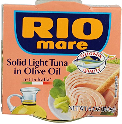 (Rio Mare Rio Mare Tuna In Olive Oil, 160 Gram (Pack of 12))