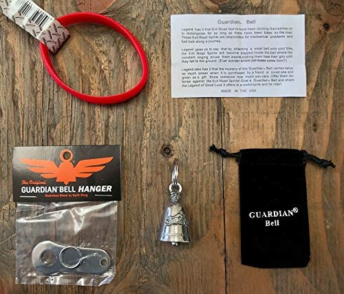 Guardian Bell Keep Calm Motorcycle Kit