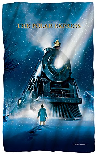 Polar Express - Poster Fleece Blanket 35 x (Polar Express Movie Poster)