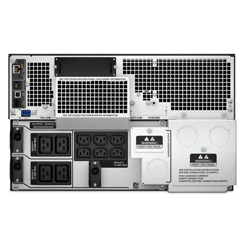 APC Smart-UPS SRT Uninterruptible Power Supply 2200VA Control Console 8 Outlets IEC C13 Multi-function LCD Panel 2 Outlets IEC C19 SRT2200XLI