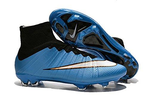 demonry Schuhe MERCURIAL SUPERFLY FG blau Fußball Soccer Herren Stiefel