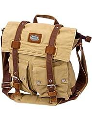 Canyon Outback Urban Edge Grady Canvas Messenger Bag, Tan, One Size