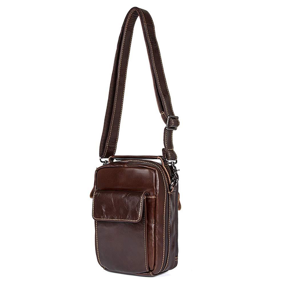 Genuine Leather Bag Classic Business Crossbody Shoulder Bags Casual Man Bag