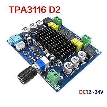 TPA3116 D2 120W+120W Dual-channel Stereo Digital Audio Power Amplifier 12V-24V
