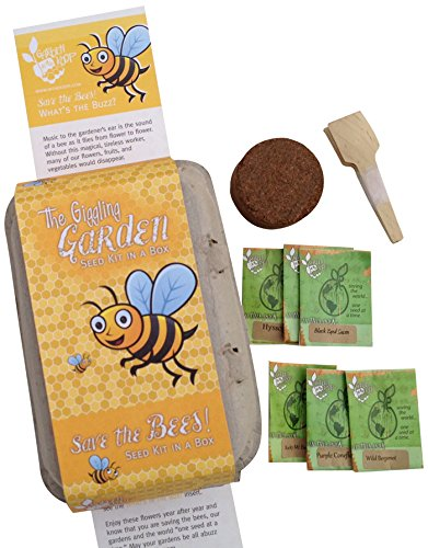 Bee Box Heirloom Starter Seed Kit