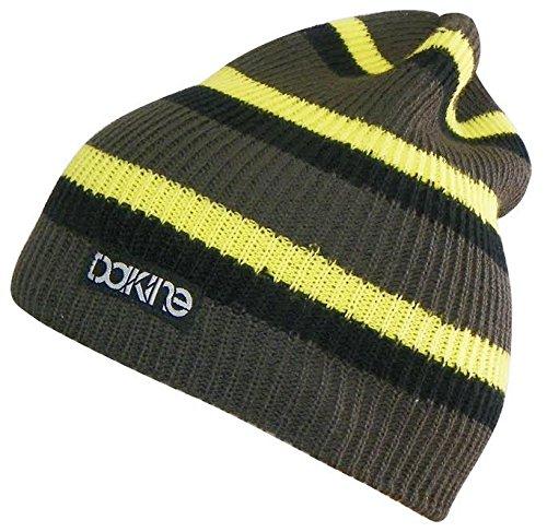 Dakine Boy's Zeke Beanie, Charcoal Stripe, One Size