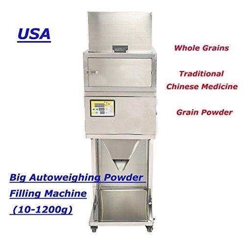 110v 1200g Powder Filling Machine (10-1200g) Vibratory Filler for Tea Weigh