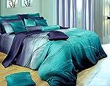 Swanson Beddings Twilight-P 3-Piece 100% Cotton Bedding Set: Duvet Cover...
