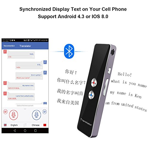 Language Translator Device, Handheld Voice Simultaneous