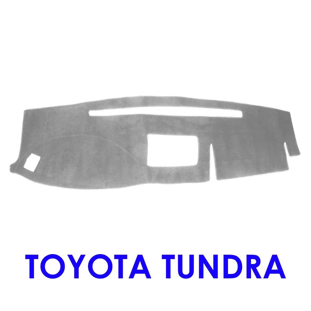 MR065 JIAKANUO Dash Cover Fit for Toyota Tundra 2007-2013 Dashboard Mat Sunshield Protector Pad Non-Slip Anti-Glare,Extra Thick Black