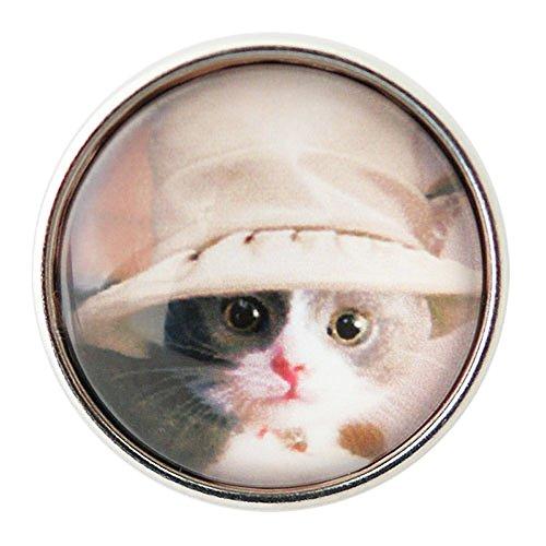 Lovmoment Snap Round Cute Cat Shape DIY Snap