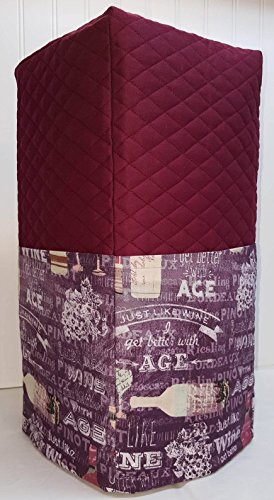 Quilted Purple Wine Blender Cover (Burgundy) (Ninja Blender Cover compare prices)