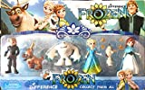 BABY N TOYYS Frozen Characters Action Figures - Set of 6 pcs