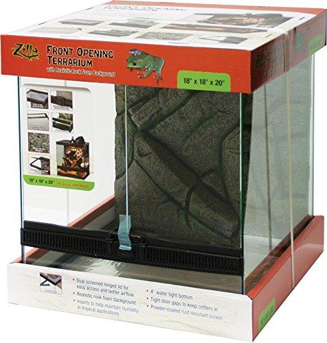 Zilla Front Opening Terrarium 18