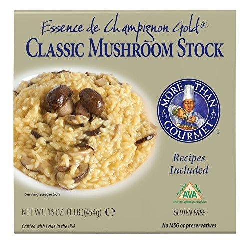More Than Gourmet Essence De Champignon Gold Mushroom Essence, 16-Ounce Units