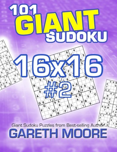 Download 101 Giant Sudoku 16x16 #2 pdf