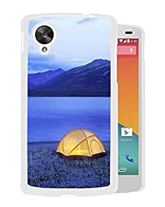 New Beautiful Custom Designed Cover Case For Google Nexus 5 With Lakeside (2) Phone Case