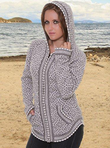 69271275c97a Jual Gamboa - Gray Alpaca Sweater - Andean Cross - Fashion Hoodies ...