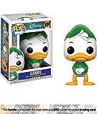 Louie: Funko POP! Disney x DuckTales Vinyl Figure + 1 Classic Disney Trading Card Bundle (20062)