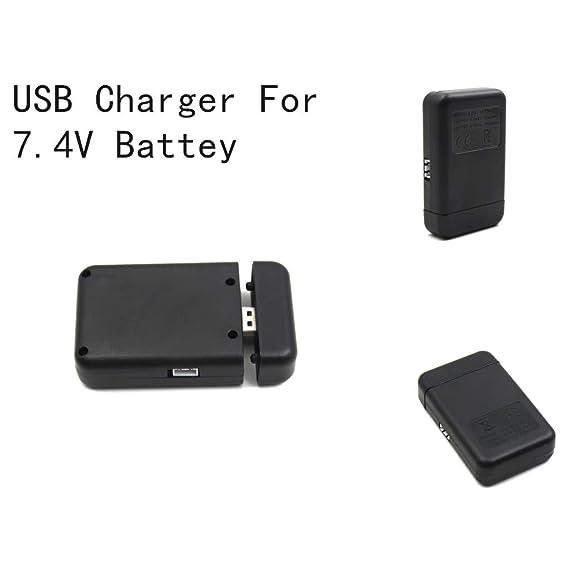 TwoCC Batería USB Balance Charger 2In1 repuesto para batería de ...