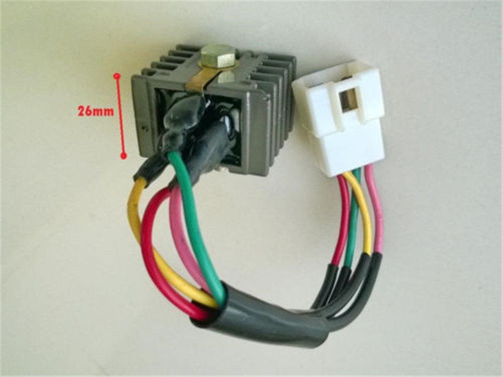 Mehoca 6V Voltage Regulator Rectifier for Honda SL100 SL125 CB125 S CB125S CL125 SB100 CB100 CL100 XL100 CT90