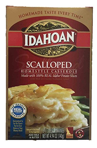 Idahoan Scalloped Homestyle Potatoes, 4.94 oz