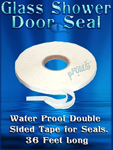 DS200 Double Sided VHB Tape for frameless glass shower door seals - 1/4