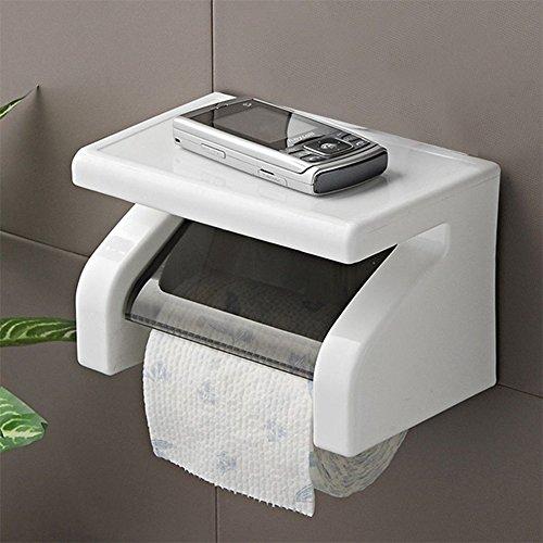 LIAN--Practical Toilet Paper Roll Holder Bathroom Tissue Box Dispenser (Elite Presentation Paper)