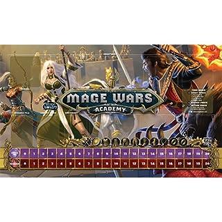 Arcane Wonders Mage Wars Academy 14 x 24 Priestess vs Warlock Playmat Board Games