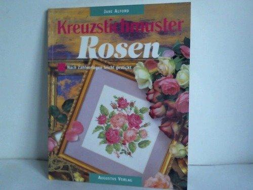 Kreuzstichmuster Rosen. Nach Zählvorlagen leicht gestickt