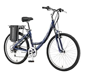 Currie Technologies eZip Women's Low Step-Thru Trailz Electric Bicycle, Blue